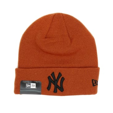 New Era New York Yankees Essential Cuff Beanie - Fern
