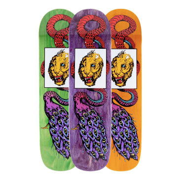Welcome Skateboards Glam Dragon on Bunyip Mid Skateboard Deck - 8.25""