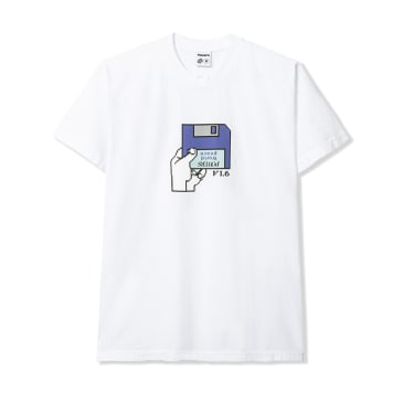 Powers Floppy T-Shirt - White