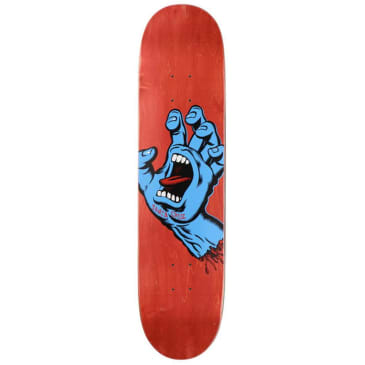 "Santa Cruz Skateboards - Screaming Hand Deck 8"" Wide"