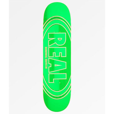 "Real Crossfade Renewal 8.06"" Skateboard Deck"