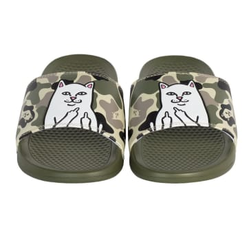 Ripndip - Lord Nermal Slides (Army Camo)