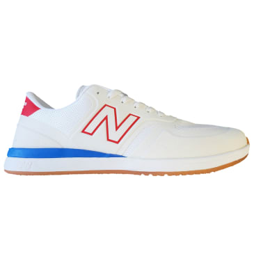 NEW BALANCE 420 Skate Shoes White/Red