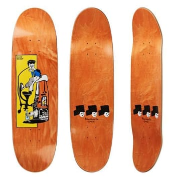 "Polar Skate Co ""Dane Brady - Pizza Oven "" shaped Skateboard Deck 8.75"""