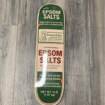 Scumco and Sons 8.375 Epsom Salts Deck