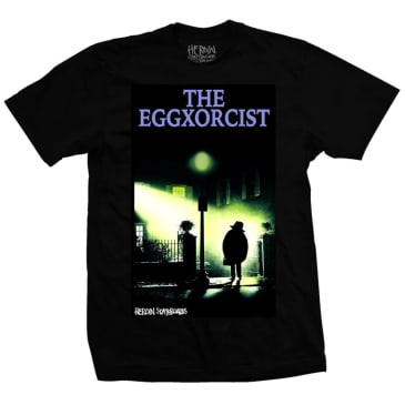 Heroin Skateboards Eggxorcist T-Shirt - Black
