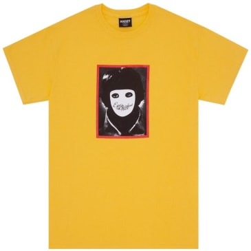 Hockey No Face T-Shirt - Bright Gold