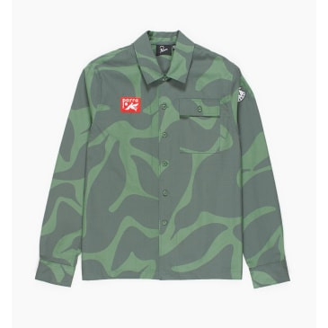 by Parra - bird camo shirt
