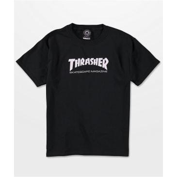 THRASHER MAG BOYS TEE - BLACK