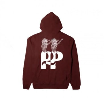 Passport Hail Pullover Hoodie - Dirty Red