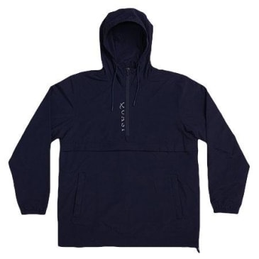 QUASI ANAORAK WINDBREAKER JACKET - NAVY