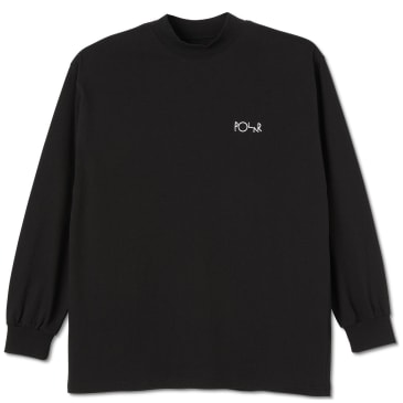 Polar Skate Co Script Mockneck - Black