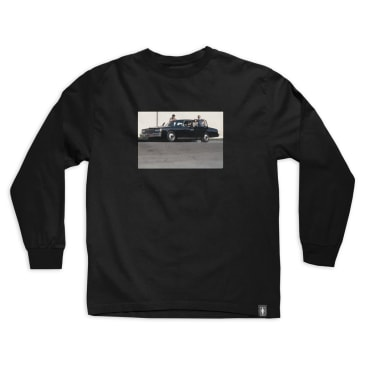 GIRL BEASTIE BOYS SPIKE JONZE L/S TEE - BLACK