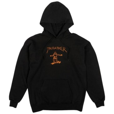 Thrasher Hoody Gonz Black