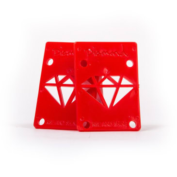 "Diamond Supply Co. Risers 1/8"" - Red"