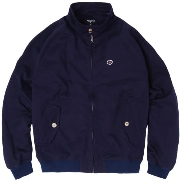 Magenta Skateboards Harrington Jacket - Navy
