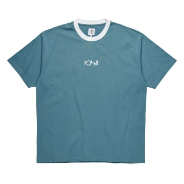 Polar Offside Tee - Grey Blue/White