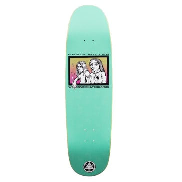Welcome Skateboards The Couple on Catblood Deck