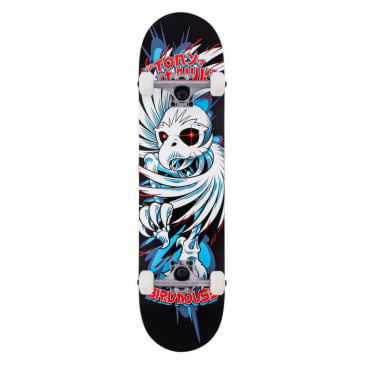 "Birdhouse Skateboards - 7.75"" Hawk Spiral Complete Skateboard (Black)"