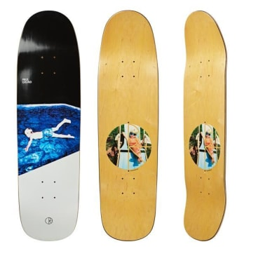 "Polar Skate Co ""Paul Grund Midnight Dip"" Pro P9 shaped Skateboard Deck 8.625"""