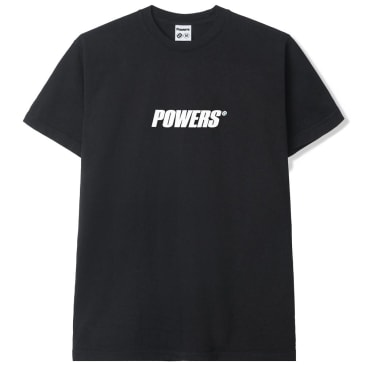 Powers Logo T-Shirt - Black