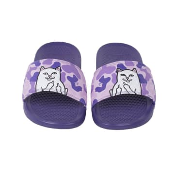 Ripndip - Lord nermal Slides (Purple Camo)