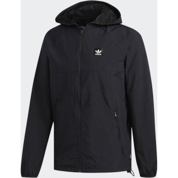 Adidas Dekum Packable Windbreaker Jacket Black - Black