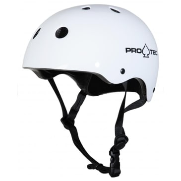 Pro-Tec - Classic Fit Cert Helmet - Gloss White - Adult Extra Small