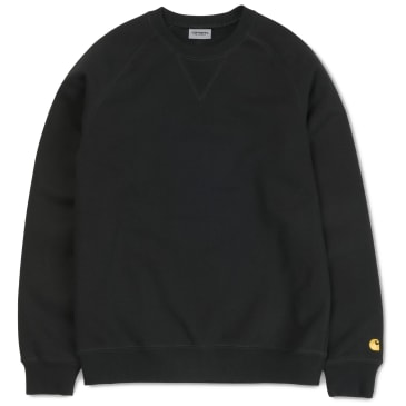 Carhartt WIP Chase Sweat - Black
