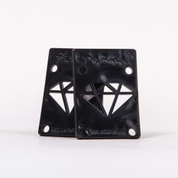"Diamond Supply Co. - 1/8"" Rise & Shine Riser Pad (Black)"