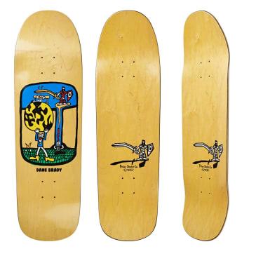 """Polar Skate Co Dane Brady World Ending Skateboard Deck - 9.25"""""""