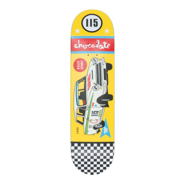 Chocolate Rally Cars Yonnie Cruz Deck - 8.125""