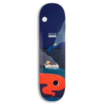Numbers (Series One) Koston Deck 8.5""