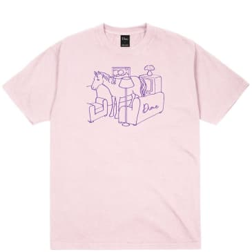 Dime Horse T-Shirt - Light Pink