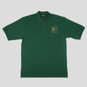Passport Skateboards - Pool Hall Embroidery Polo (Green)