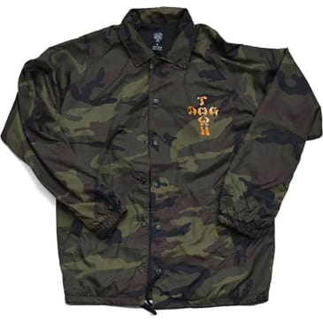 Dogtown Cross Logo Windbreaker - Camouflage