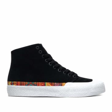 DC T-Funk Hi S Skate Shoes - Black / White / Print