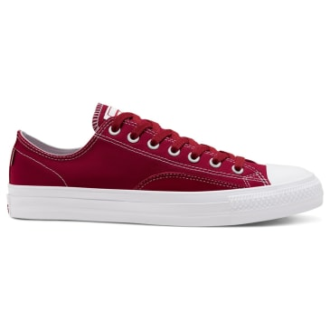 Converse Cons Suede Ollie Patch CTAS Pro Low Skate Shoes - Team Red / White / White