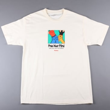Butter 'Free Your Mind' T-Shirt (Cream)