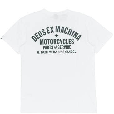 Deus Ex Machina Canggu Address T-Shirt - White