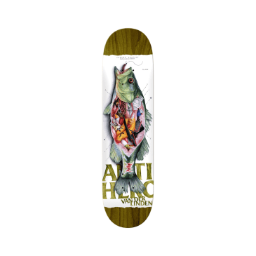 "Anti Hero Skateboards - 8.25"" Daan Van Der Linden Street Anatomy Deck"