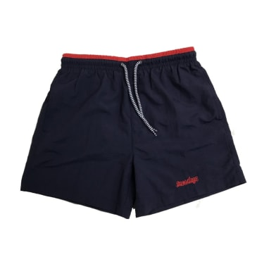 Tuesdays Icon Swim Shorts Navy/Red