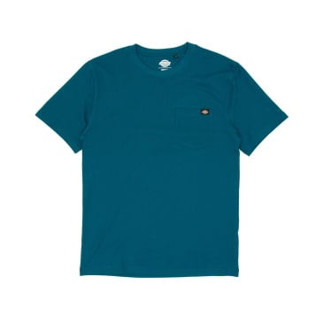 Dickies Porterdale T-Shirt - Coral Blue