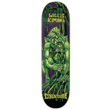 "Creature Skateboards - Kimbel Swamp Lurker P2 Deck 9"" Wide"