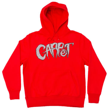 Carpet Company Metal Hoodie Red