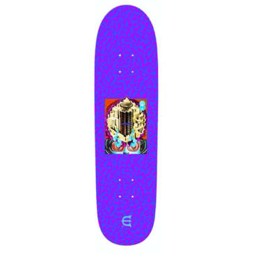 Evien Skateboards Club W Skateboard Deck Purple - 8.8