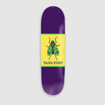 Pass~Port Laugh Now, Fly Later Animals Series Skateboard Deck - 8.25""