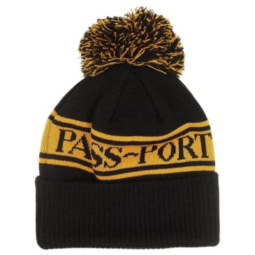 Pass~Port Pill Pom Pom Beanie - Yellow