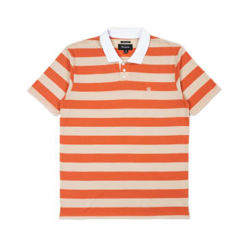 BRIXTON Hilt Polo Knit Autumn/Safari