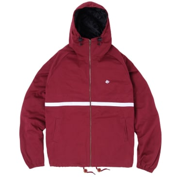 Magenta Skateboards - Hooded Jacket Burgundy